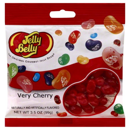 Jelly Belly Jelly Bean, Very Cherry - 3.5 oz - Jelly Bellys