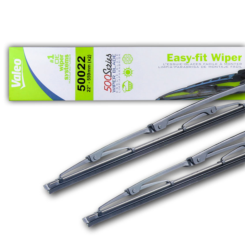 "NEW 22"" OEM VALEO WIPER BLADE PAIR FITS FORD F-450 SUPER DUTY 2009-2017 10148004"