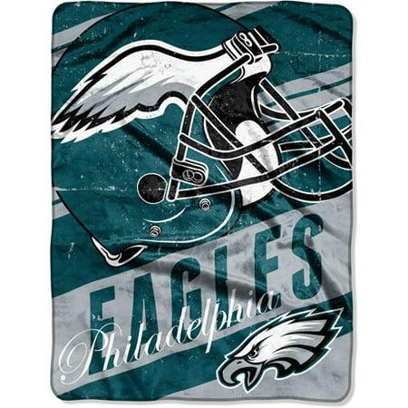 "NFL Micro Raschel Deep Slant 50"" x 60"" Throw, Philadelphia Eagles by"
