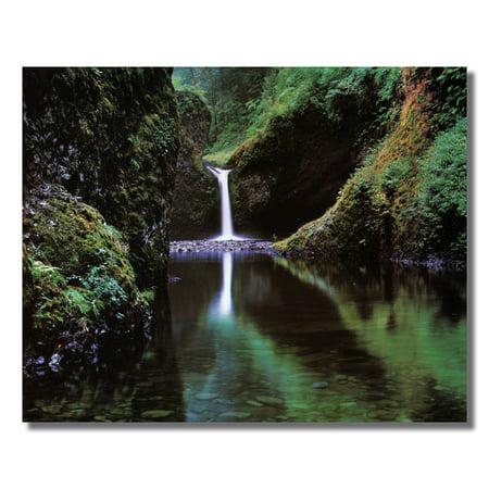 Eagle Creek Waterfall in Oregon Photo Wall Picture 8x10 Art Print