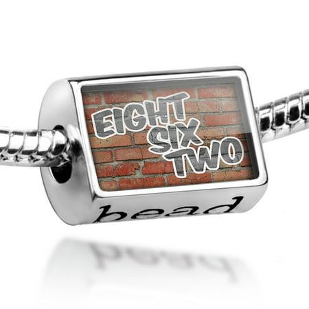 Bead 862 Whippany, NJ brick Charm Fits All European Bracelets ()