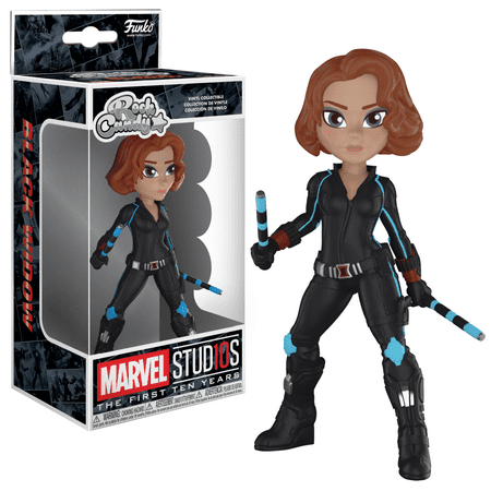 Funko Rock Candy: Marvel Studios 10 - Black Widow