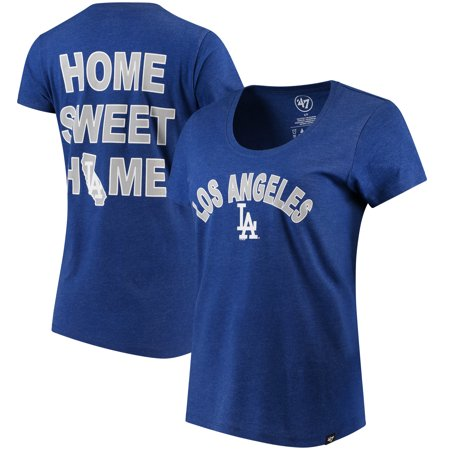Halloween Club Events Los Angeles (Los Angeles Dodgers '47 Women's Club Scoop Neck T-Shirt -)
