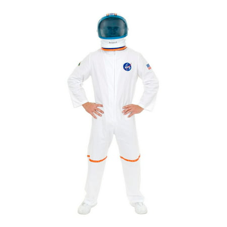 Halloween Astronaut Suit Adult White](Astronaut Costume For Adults)