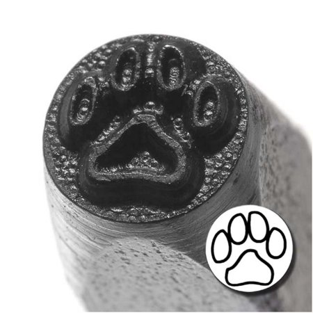 Dog Paw Punch Stamp For Blanks 1/5 Inch 5mm (1) - Paw Print Stamp