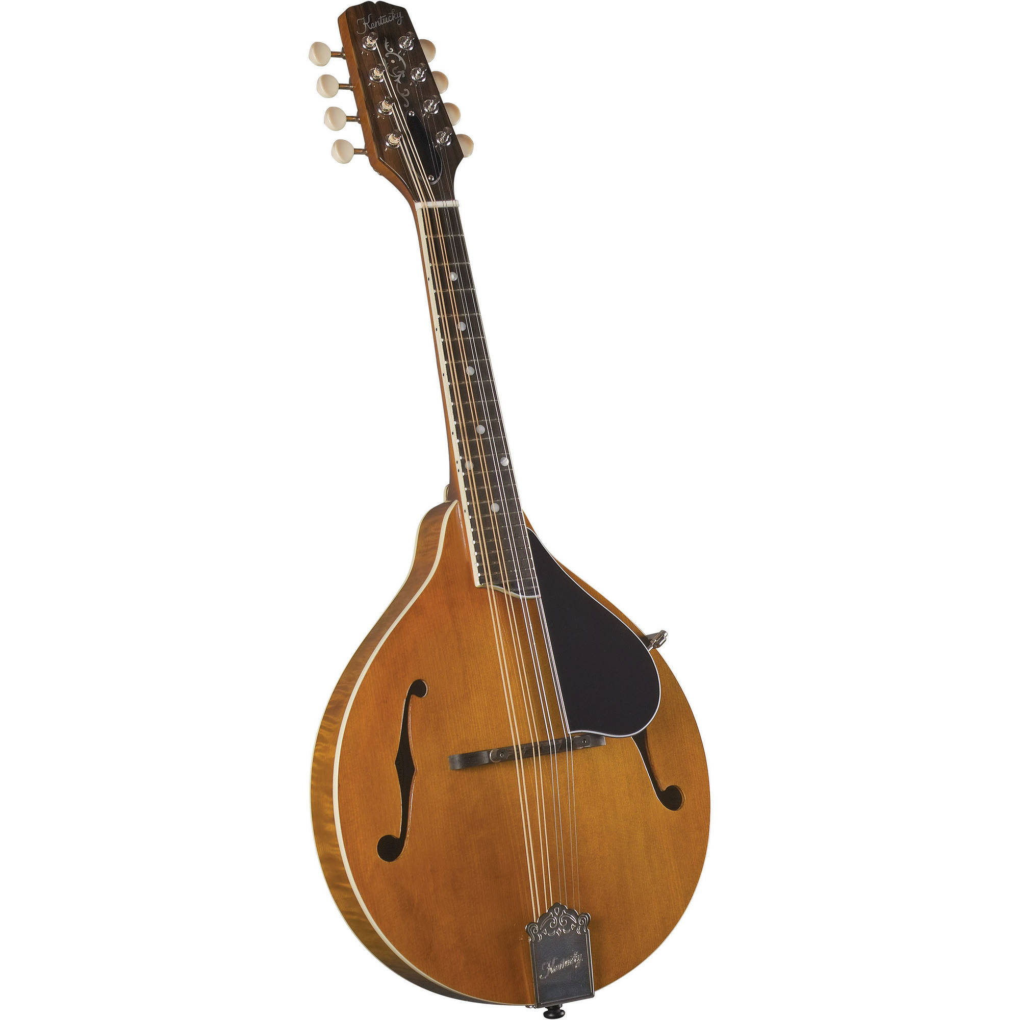 Kentucky KM-252 Artist A-Model Mandolin, Transparent Amber by Kentucky