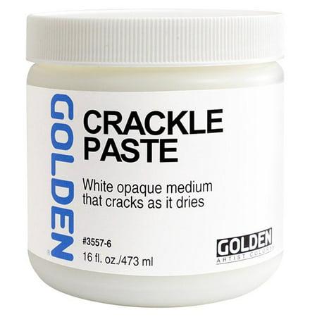 GOLDEN Crackle Paste 16 oz Jar