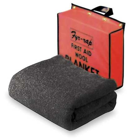 Fire Blanket and Pouch,Wool/Nylon Blend STEINER BTPCO