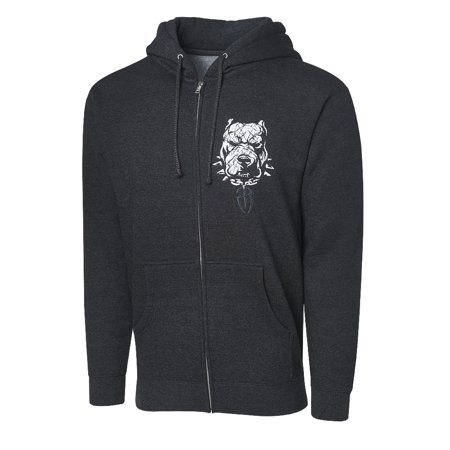 """Official WWE Authentic Roman Reigns """"Unleash The Big Dog"""" Full Zip Hoodie Sweatshirt Multi Small"""