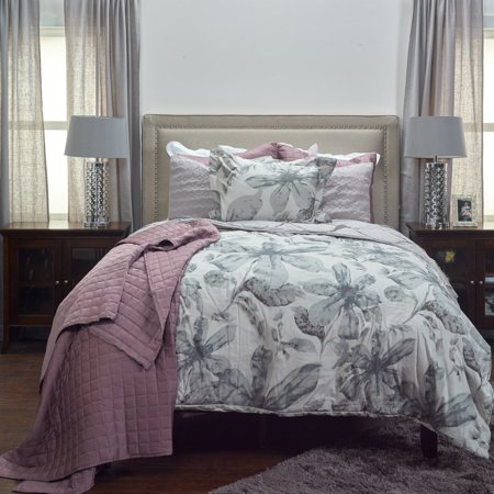 Rizzy Home Comforter Teal Queen