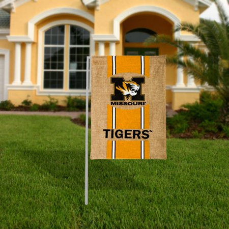 Missouri Tigers Garden Flag (Missouri Tigers Burlap Garden Flag - No Size )