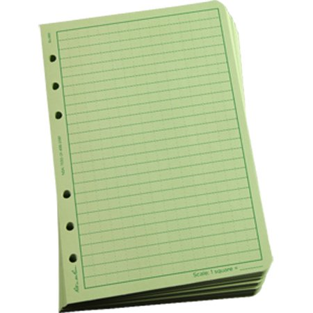 Rite in the Rain 982 All-Weather Universal Loose Leaf, Green, 4 5/8