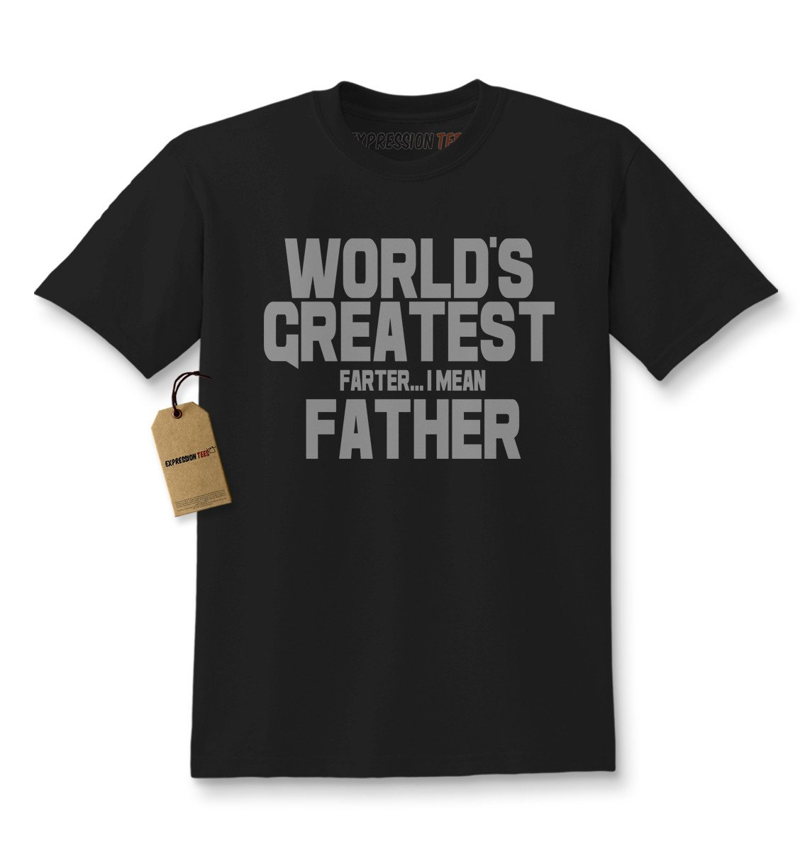 World's Greatest Farter Father Kids T-shirt