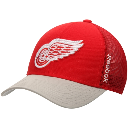 Detroit Red Wings Reebok Center Ice Travel & Training Adjustable Hat - Red - OSFA