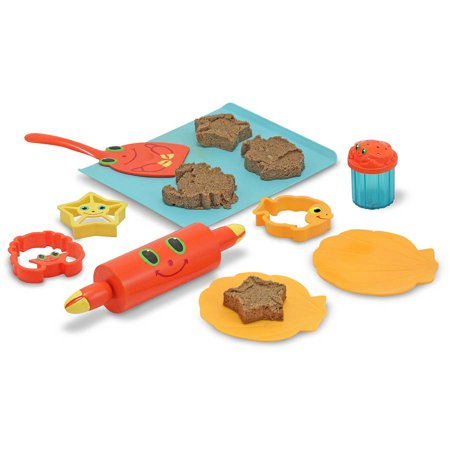 Melissa & Doug Sunny Patch Seaside Sidekicks Sand Cookie-Baking Set (Melissa And Doug Sand Toys)