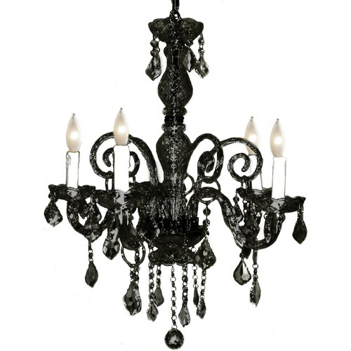 Pangea Home Krystal 5-Light Crystal Chandelier
