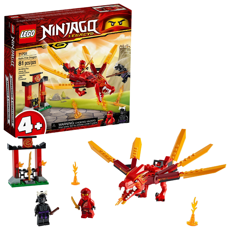 LEGO NINJAGO Legacy Kai?s Fire Dragon 71701 Building Kit ...