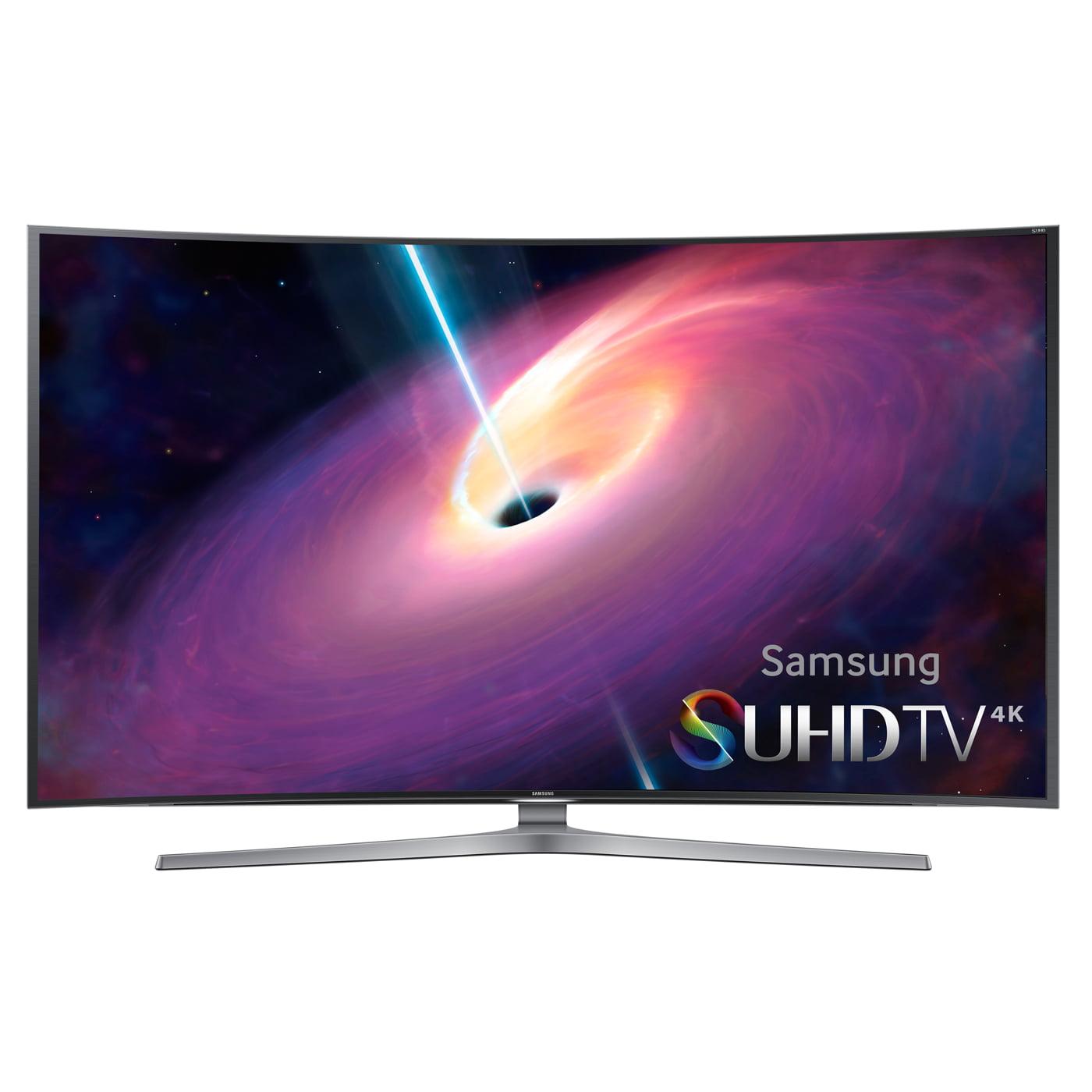 "Samsung UN65JS9000 65"" Class Curved 4K SUHD 3D Smart TV With WiFi"