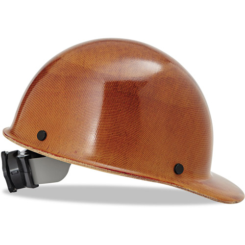 MSA Skullgard Hard Hats with Ratchet Suspension, Stand. Size 6 1 2 8, Natural Tan by MSA