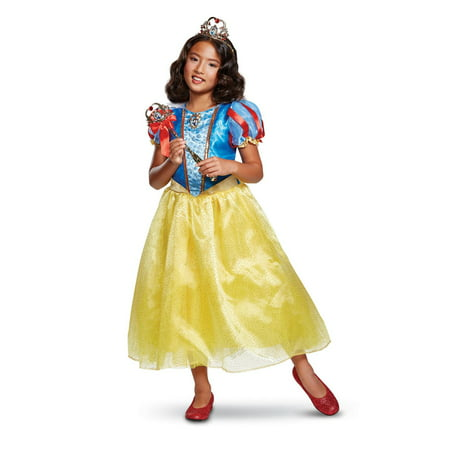 Snow White Deluxe Child Costume](Snow White Kid Costume)