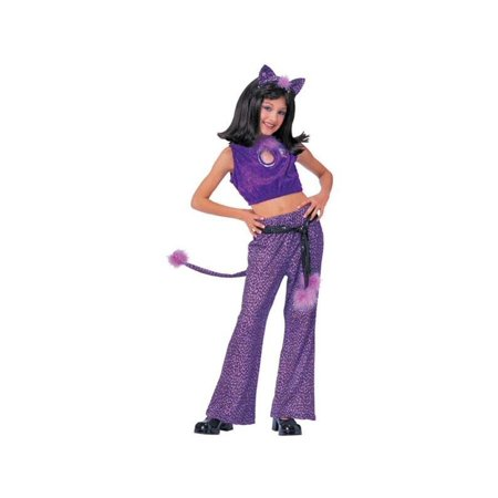 Josie And The Pussycat Costume (Child's Purple Josie Costume)