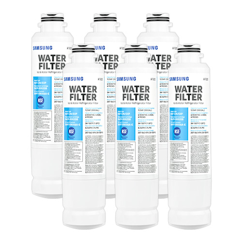 Replacement Water Filter for Samsung Clear Choice CLCH105 Refrigerator Water Filter (6 Pack)
