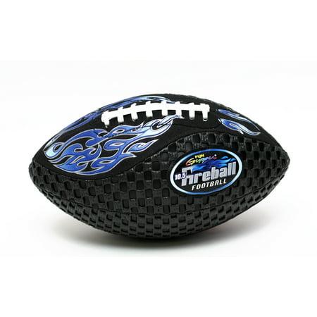 Fun Gripper Fireball 10.5 Football Neon Blue By: Saturnian 1 - Blue Footballs