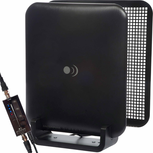 Refurbished Antennas Direct ClearStream Micron-XG UHF Indoor DTV Antenna with Amplifier and Reflector Screen
