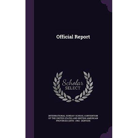 Official Report - image 1 de 1