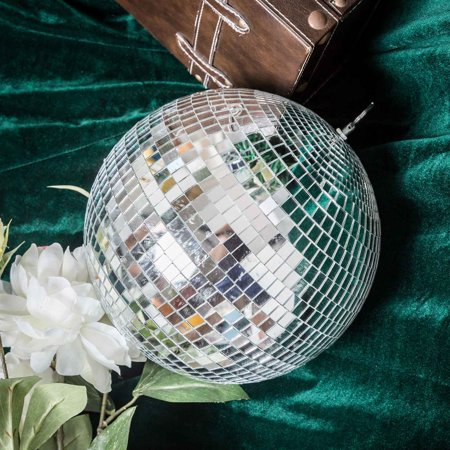 Efavormart Groovy Glass Mirror Disco Ball Party Decoration for Wedding Event Birthday Party Decoration - Disco Decorations Ideas