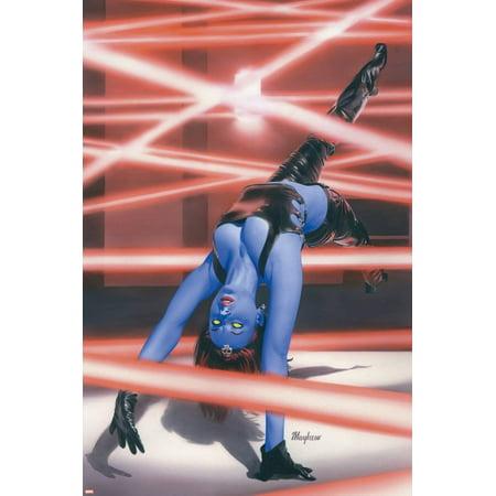 Mystique No.16 Cover: Mystique Poster Wall (Red Mystique Art)