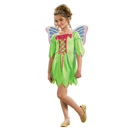 Chld Girl Fairy Costume Rubies 881954, Medium