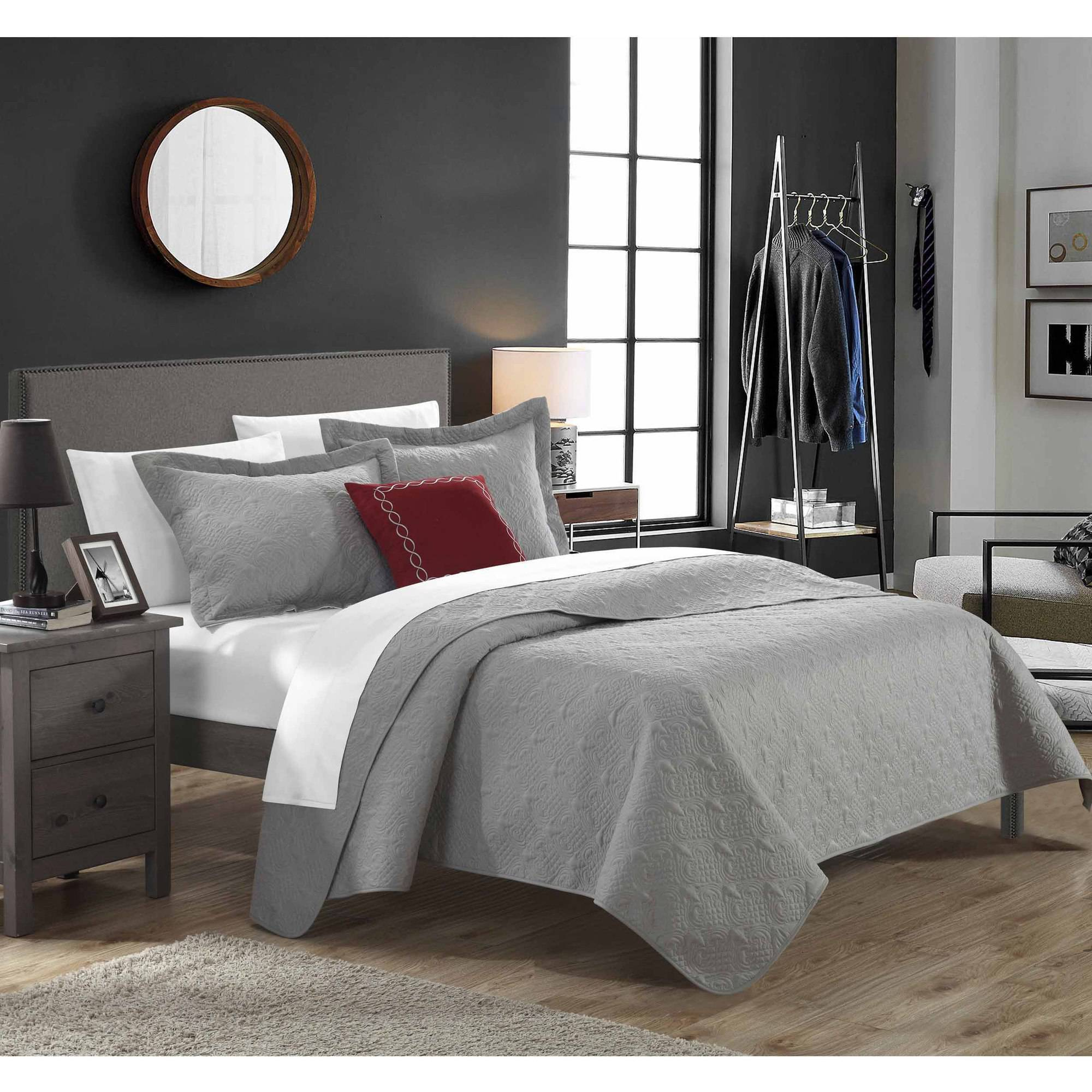 Chic Home 3-Piece Argeles Quilt Collection