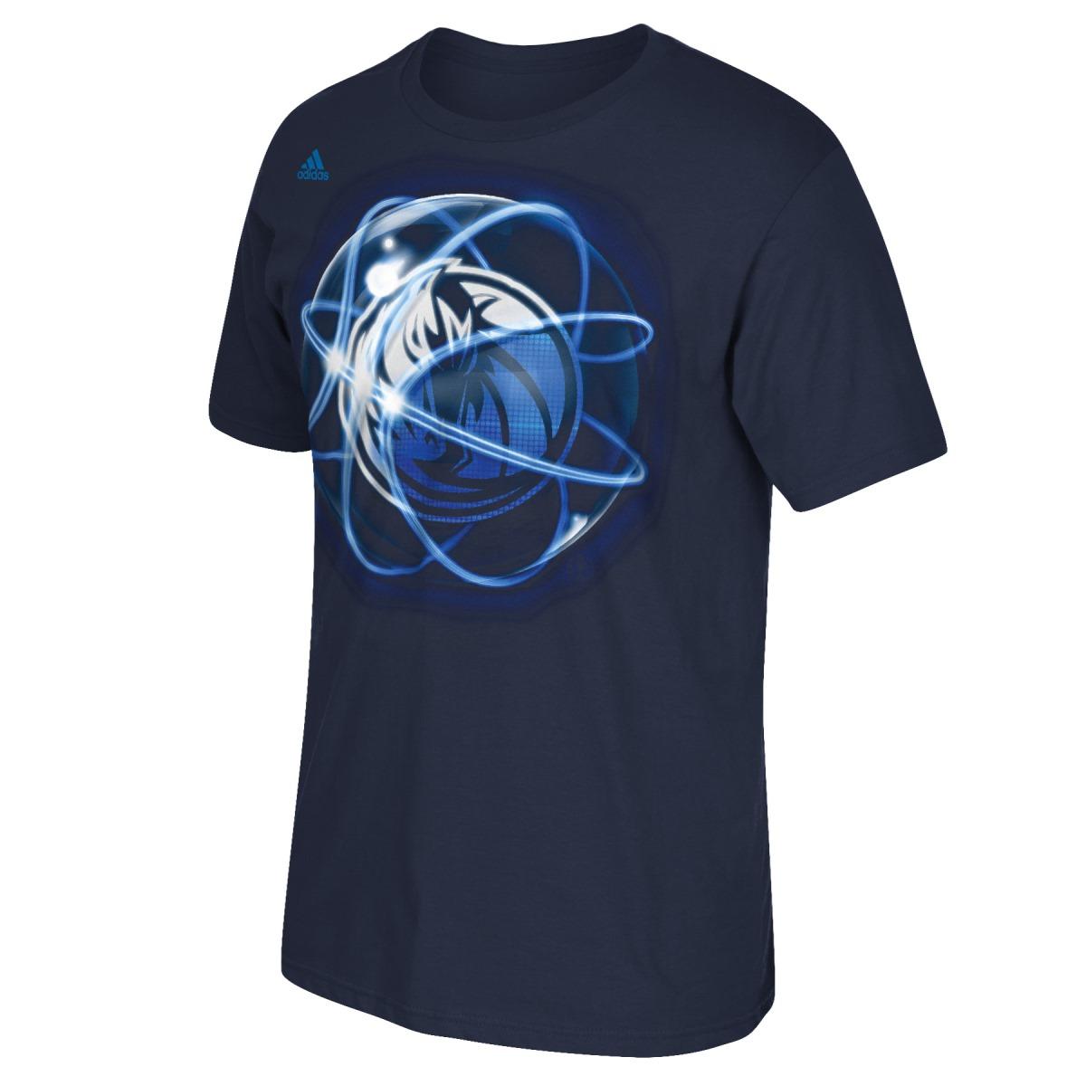 "Dallas Mavericks Adidas NBA ""Horizons"" Premium Print S/S Men's T-Shirt"