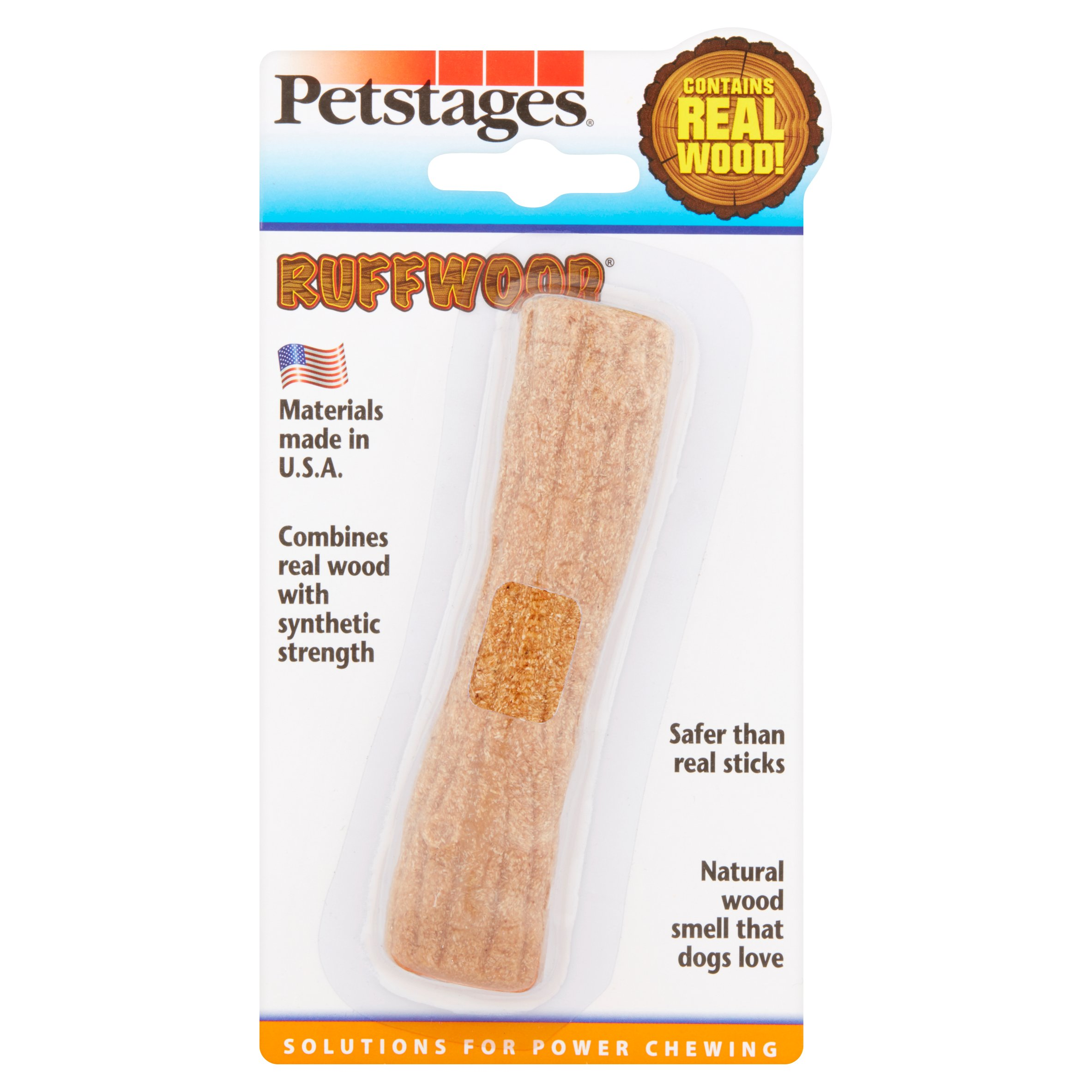 Petstages Small Ruffwood Stick