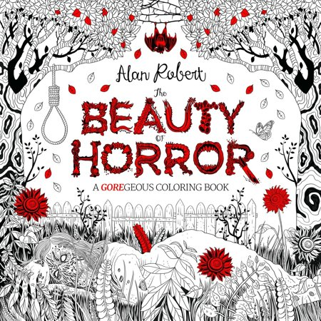 The Beauty of Horror 1: A GOREgeous Coloring Book - November Coloring Pages