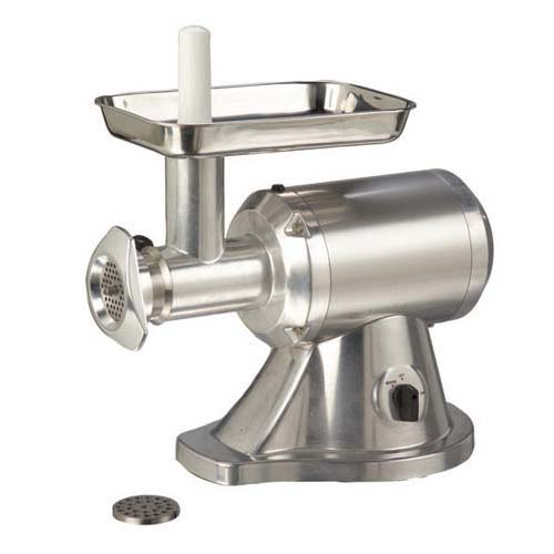 Image of AdCraft Aluminum 1 HP Meat Grinder Deli Butcher Restaurant MG-1