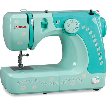 Janome 40 Hello Kitty Lightweight EasytoUse Sewing Machine With Enchanting Janome Mini Sewing Machine Canada