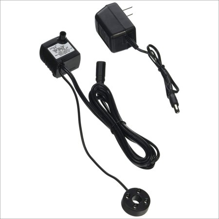Jebao PP-300LV+LED Submersible Fountain Pond Water Pump with LED Light, 2.5W ()