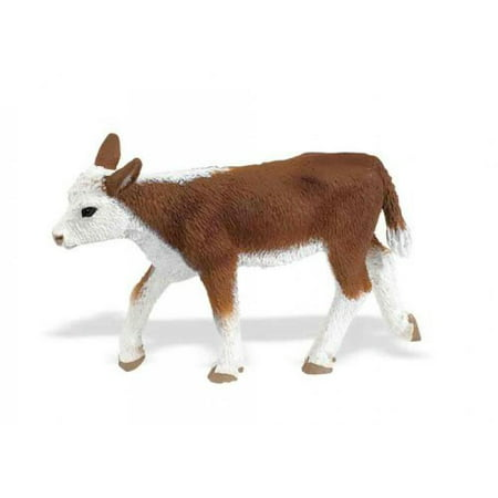 Safari Ltd Farm (Safari Ltd Safari Farm Collection - Hereford Calf - Realistic Hand Painted Toy Figurine Model - Quality Construction from Safe and BPA Free Materials - For Ages 3 and Up )