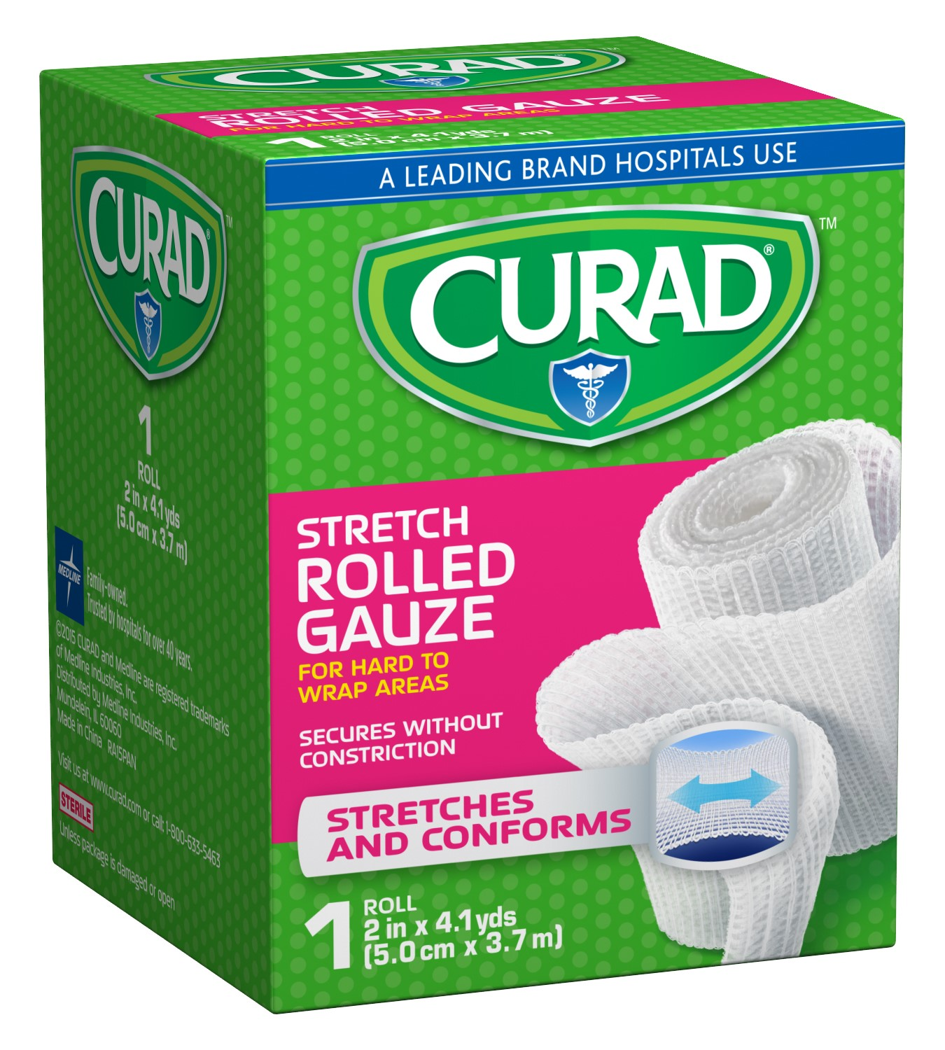 Curad Sterile Rolled Gauze