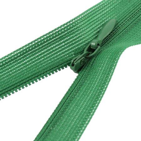 Dress Pants Closed End Nylon Zippers Tailor Sewing Craft Tool Green 50cm 10 Pcs - image 1 de 2