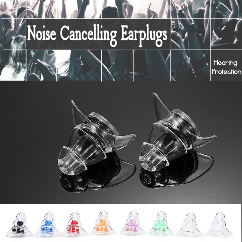 20DB Noise Cancelling Earplugs For Musicians Shooting Motorcycles Hearing Protection