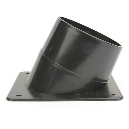 Big Horn 11428 4 Inch Dust Port with 4 Mounting
