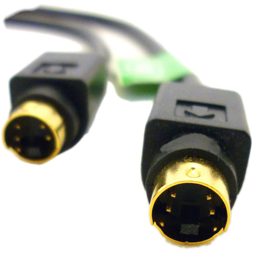 Professional Cable 6' Mini-Din S-Video Cable