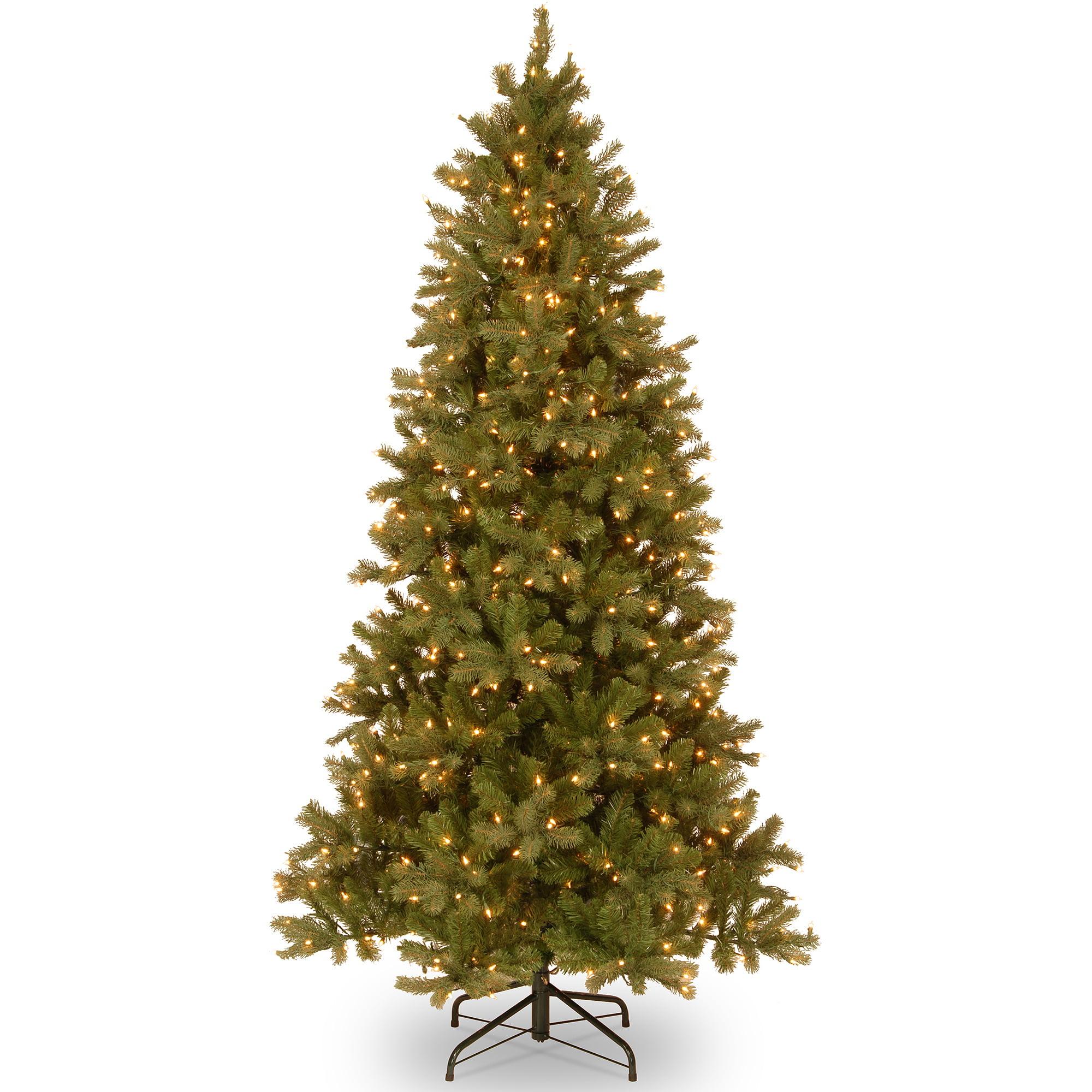 Holiday Time Pre Lit 7 5 39 Covington Fir Artificial