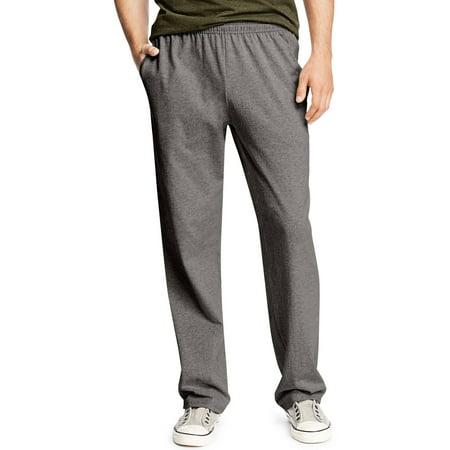 - Big Men's X-Temp Jersey Open Leg Pants with Pockets