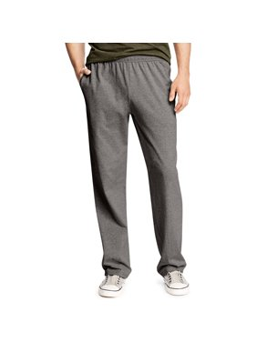 Big Men's X-Temp Jersey Open Leg Pants with Pockets