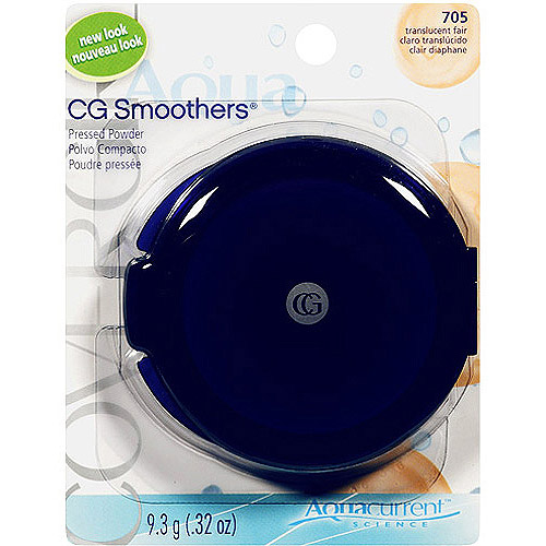 COVERGIRL CG Smoothers Pressed Powder, Translucent Fair, .32 oz (9.3 g)