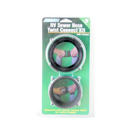 Camco Sewer Fitting Twist Connect Kit  Abs